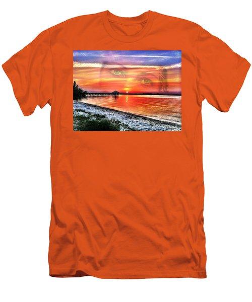 Mother  Men's T-Shirt (Slim Fit) by Carlos Avila