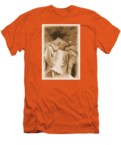 Mother With Children Men's T-Shirt (Athletic Fit)