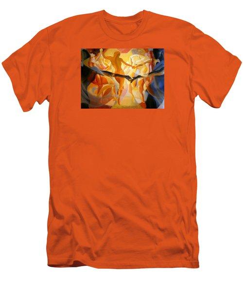 Moving Nimbus Men's T-Shirt (Athletic Fit)