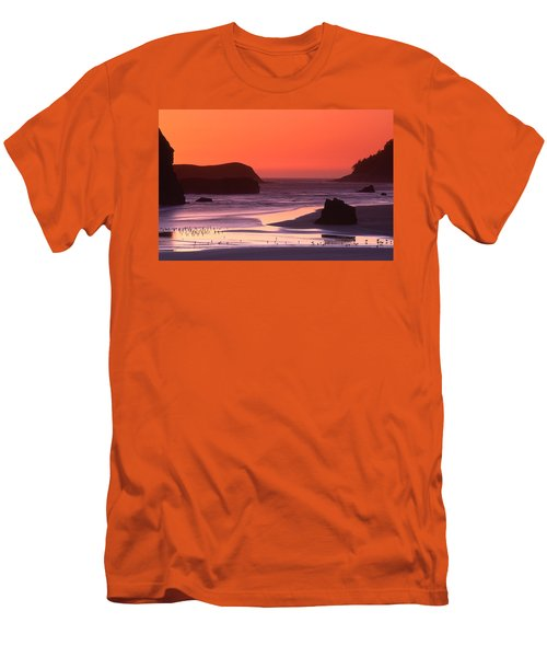 Myers Creek Sunset Men's T-Shirt (Athletic Fit)
