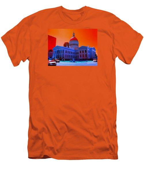 Neon Sky Men's T-Shirt (Athletic Fit)
