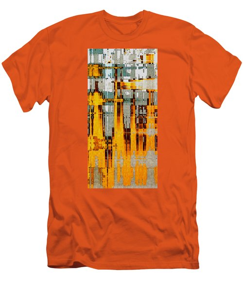 Ochre Urbanity Men's T-Shirt (Athletic Fit)