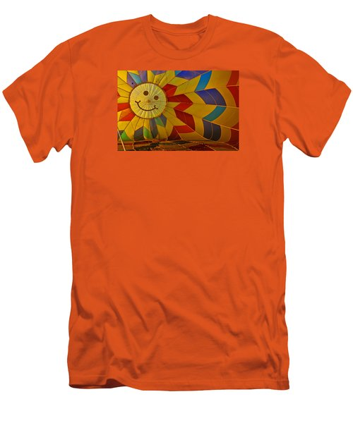 Men's T-Shirt (Slim Fit) featuring the photograph Oh Happy Day by Mike Martin