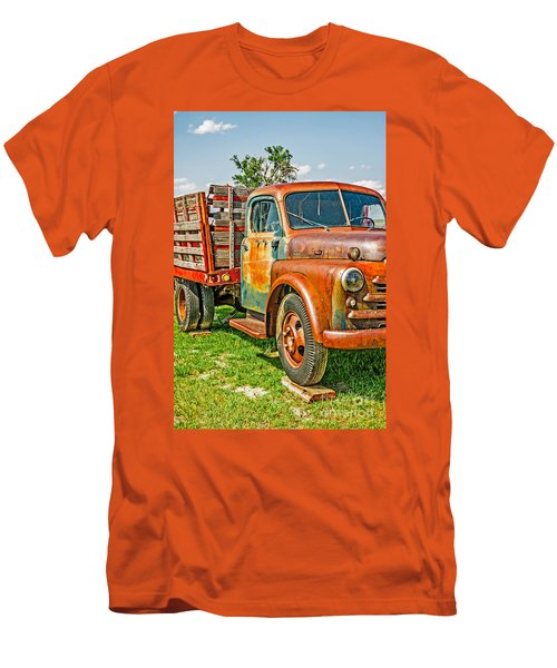 Men's T-Shirt (Athletic Fit) featuring the photograph Old Dually by Sue Smith