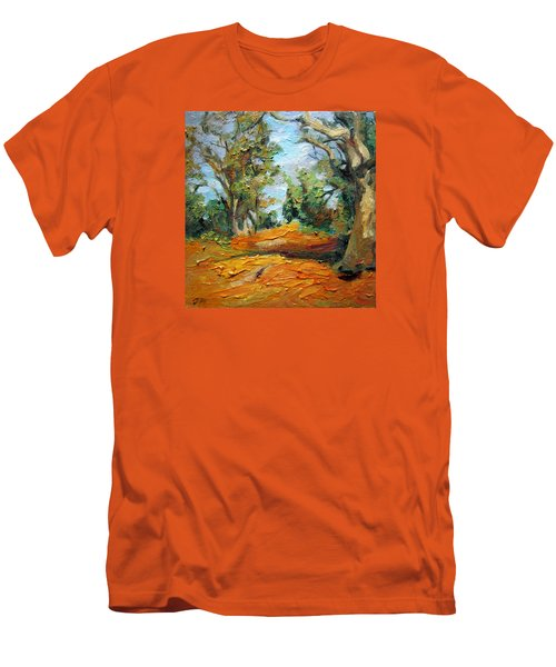 On The Forest Men's T-Shirt (Slim Fit) by Jieming Wang