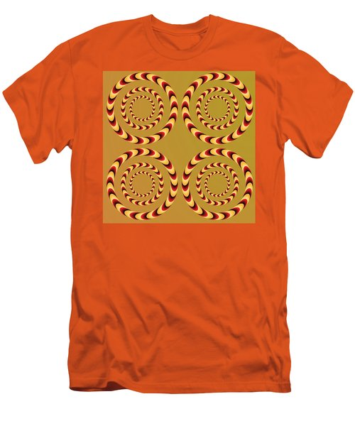 Optical Ilusions Summer Spin Men's T-Shirt (Slim Fit) by Sumit Mehndiratta