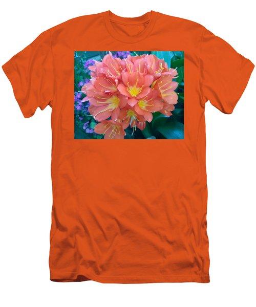 Orange Bouquet Men's T-Shirt (Athletic Fit)