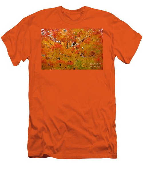 Men's T-Shirt (Slim Fit) featuring the photograph Orange Crush by Robert Pearson