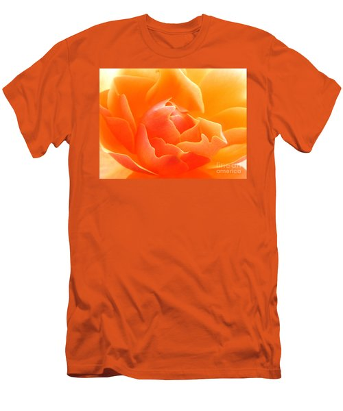 Orange Sherbet Men's T-Shirt (Athletic Fit)