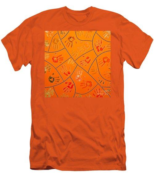 Original Art 3 Men's T-Shirt (Slim Fit) by Mariusz Czajkowski