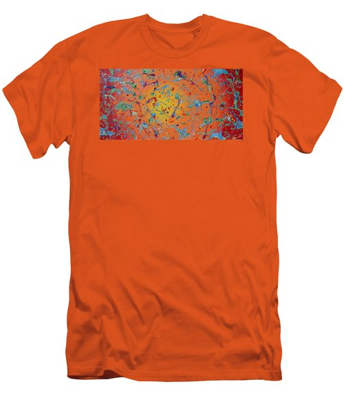 Paint Number Thirty Seven Men's T-Shirt (Athletic Fit)