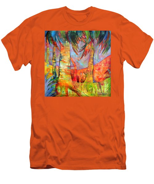 Palm Jungle Men's T-Shirt (Athletic Fit)