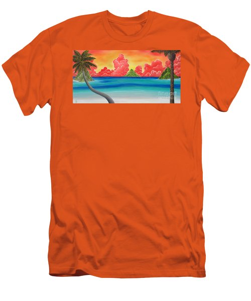 Paradise Panorama Men's T-Shirt (Athletic Fit)