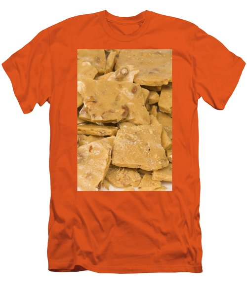 Peanut Brittle Closeup Men's T-Shirt (Athletic Fit)