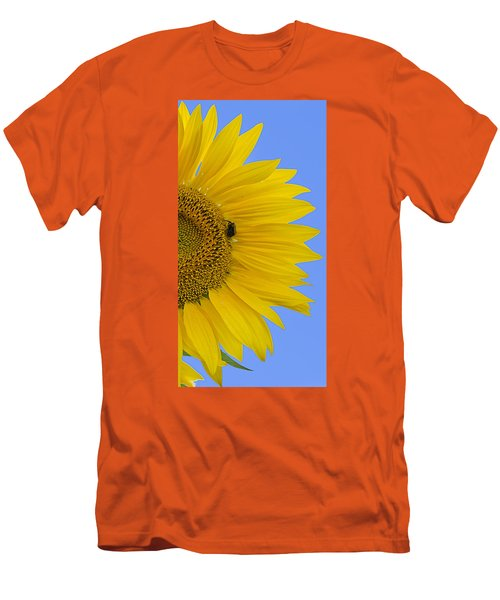 Perfect Half With Blue Sky Men's T-Shirt (Athletic Fit)