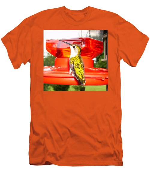 Men's T-Shirt (Slim Fit) featuring the photograph Perfect Pose by Nick Kirby