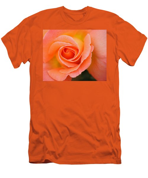 Petals Of Peach Men's T-Shirt (Athletic Fit)