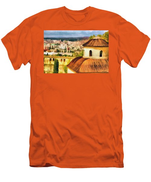 Pious Witness To The Passage Of Time Men's T-Shirt (Athletic Fit)