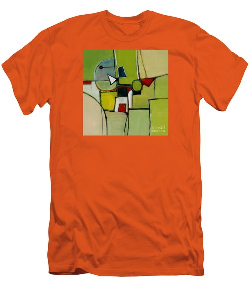 Men's T-Shirt (Slim Fit) featuring the painting Portal No.1 by Michelle Abrams