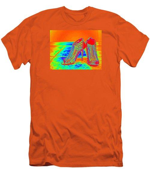 Psychedelic Stilettos Men's T-Shirt (Athletic Fit)