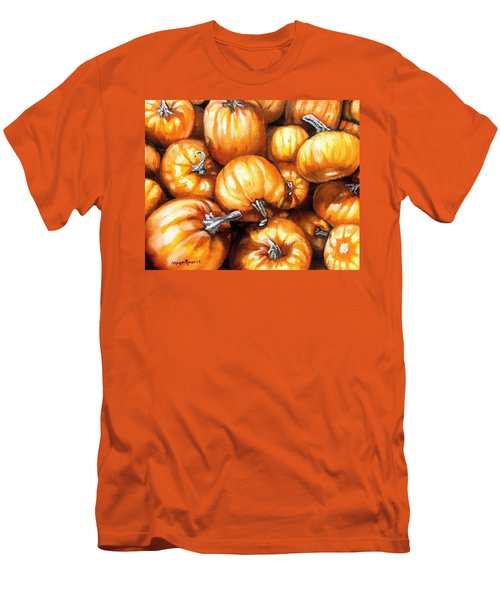 Pumpkin Palooza Men's T-Shirt (Slim Fit) by Shana Rowe Jackson