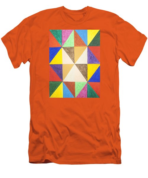 Pyramids 2 Men's T-Shirt (Athletic Fit)