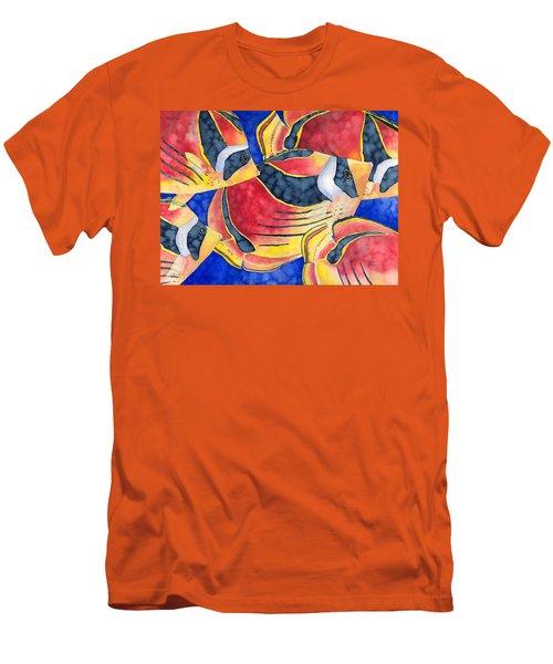 Raccoon Butterflyfish Men's T-Shirt (Athletic Fit)