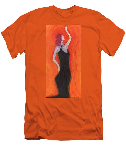 Red Haired Lady Men's T-Shirt (Athletic Fit)