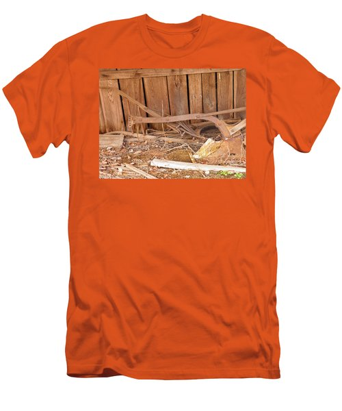 Men's T-Shirt (Slim Fit) featuring the photograph Retired Tools by Nick Kirby