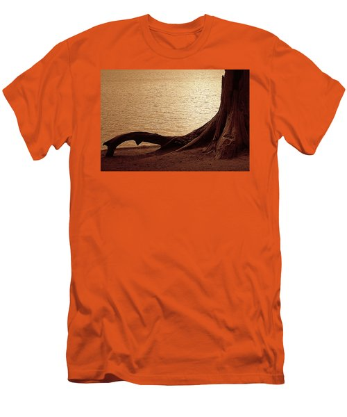 Men's T-Shirt (Slim Fit) featuring the photograph Roots by Mim White