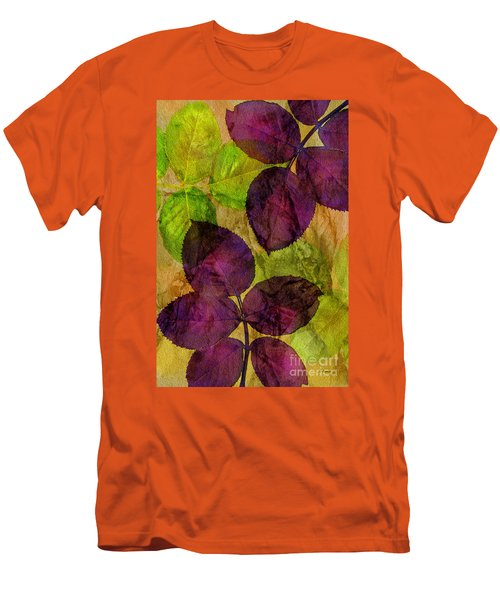 Rose Clippings Mural Wall Men's T-Shirt (Athletic Fit)