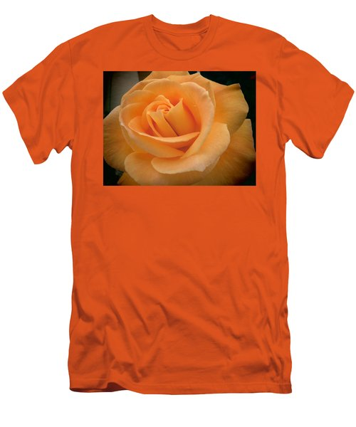 Men's T-Shirt (Slim Fit) featuring the photograph Rose by Laurel Powell