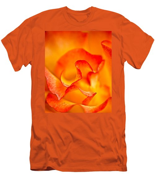 Rose Petals Closeup Men's T-Shirt (Athletic Fit)