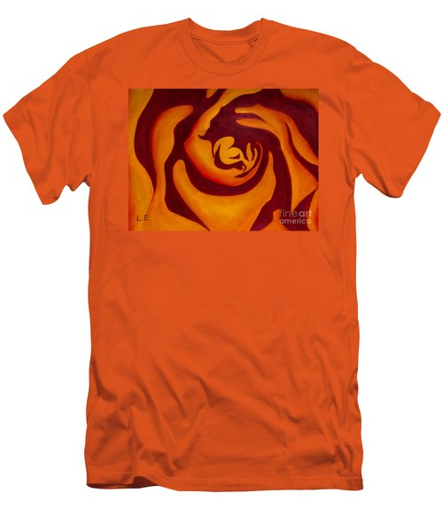 Rose Whirl 2 Men's T-Shirt (Athletic Fit)
