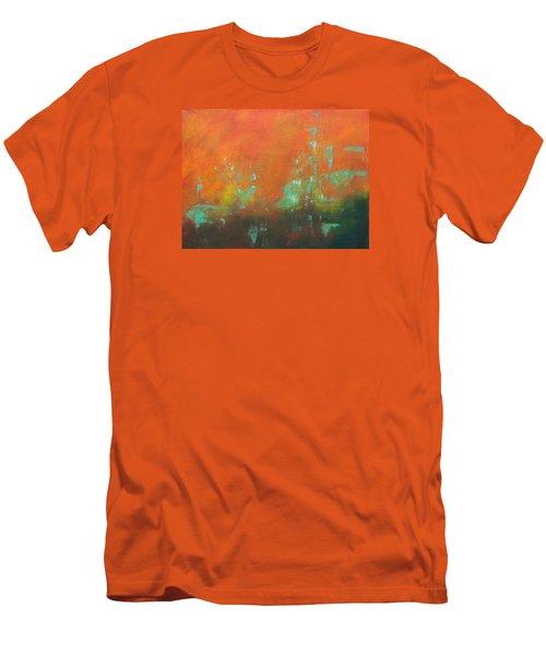 Safe Harbor Men's T-Shirt (Slim Fit) by Lee Beuther