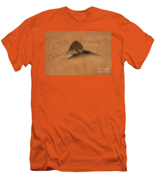 Men's T-Shirt (Slim Fit) featuring the photograph Seashell Solitude by John F Tsumas