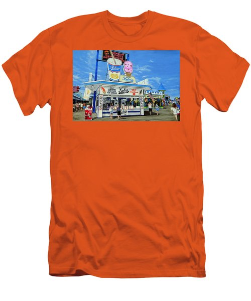 Seaside Memories Men's T-Shirt (Athletic Fit)
