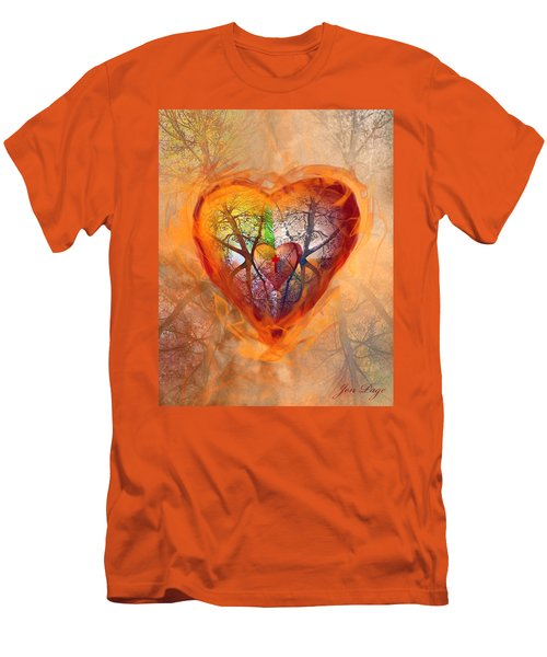 Season Of The Heart Men's T-Shirt (Athletic Fit)