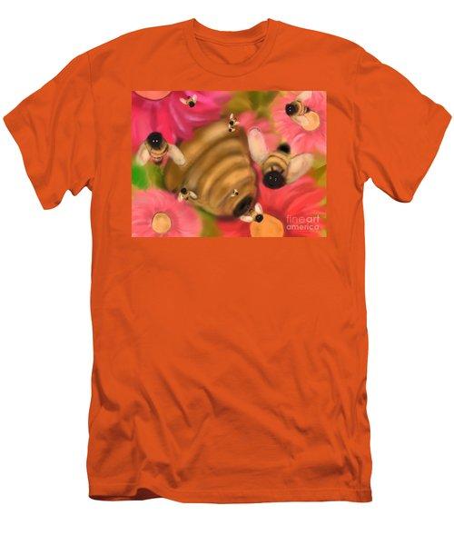 Secret Life Of Bees Men's T-Shirt (Slim Fit) by Christine Fournier