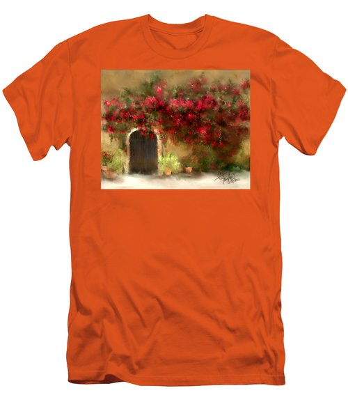 The Bougainvillea's Of Sedona Men's T-Shirt (Athletic Fit)
