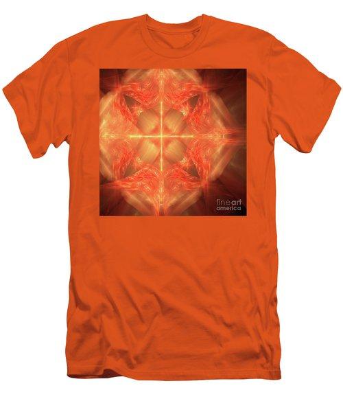 Shield Of Faith Men's T-Shirt (Slim Fit) by Margie Chapman
