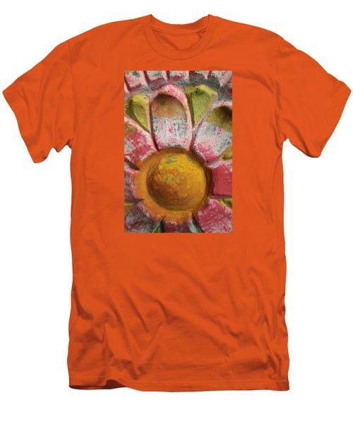 Men's T-Shirt (Slim Fit) featuring the photograph Skc 0008 Scraped Paint by Sunil Kapadia