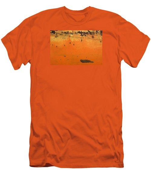 Men's T-Shirt (Slim Fit) featuring the photograph Skc 1505 Peeled Paint by Sunil Kapadia