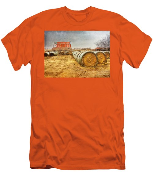Slumbering In The Countryside Men's T-Shirt (Athletic Fit)
