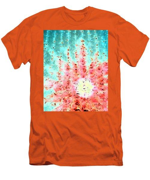 Soft Morning Rain Men's T-Shirt (Athletic Fit)