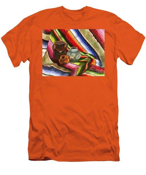 Southwest Still Life Men's T-Shirt (Slim Fit) by Marilyn Smith