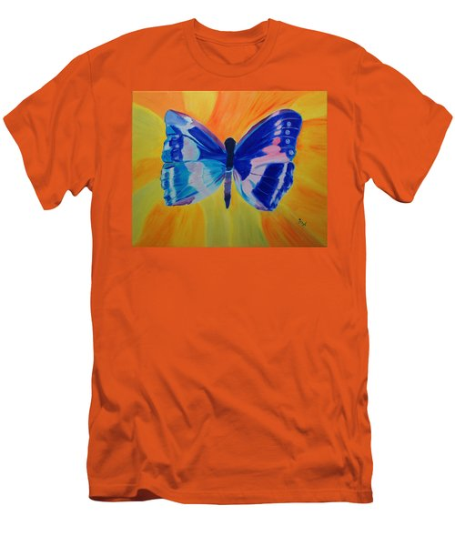 Spreading My Wings Men's T-Shirt (Athletic Fit)