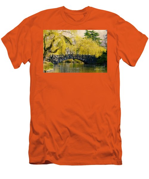 Springtime In Victoria Men's T-Shirt (Athletic Fit)