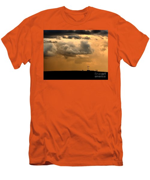 Storm's A Brewing Men's T-Shirt (Slim Fit) by Steven Reed