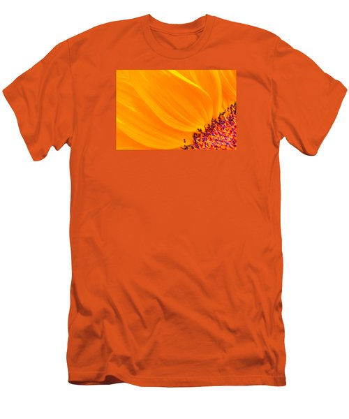 Stretching Out Men's T-Shirt (Slim Fit) by Jim Carrell